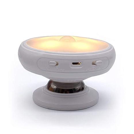 Luz de Sensor de Movimiento, lámpara del Sensor Giratorio de 360 °en Forma ,