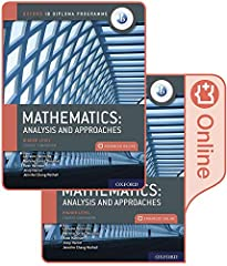 Featuring a wealth of digital content, this concept-based Print and Enhanced Online Course Book Pack has been developed in cooperation with the IB to provide the most comprehensive support for the new DP Mathematics: analysis and approaches H...