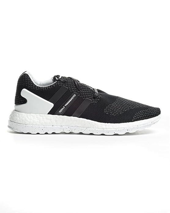 finest selection a96e9 ed471 Sneaker Uomo Y-3 Pure Boost ZG Knit Black Trainer, Nero  Amazon.it  Scarpe  e borse