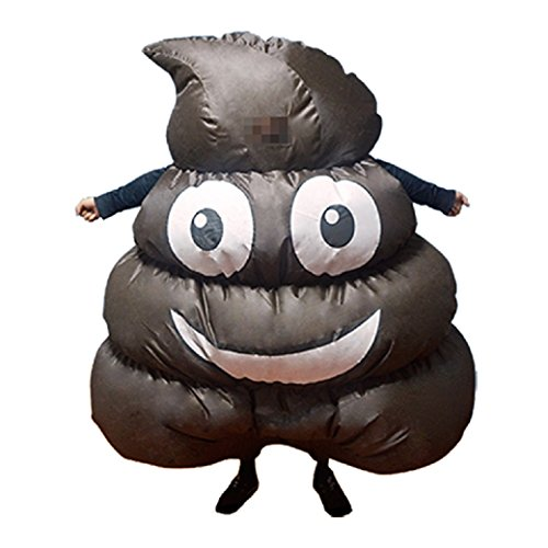 Poo Costumes (Nicky Bigs Novelties Inflatable Poo Costume, One Size)