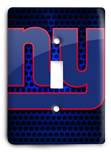 NFL Come Hard Giants Light Switch Cover