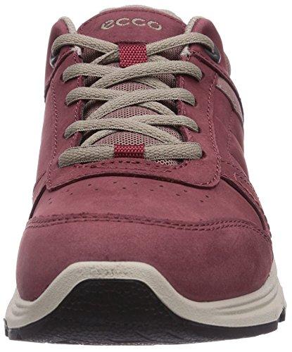 Ecco Light IV Port/Woodrose Yabuck/Textile - zapatillas de running de cuero mujer rojo - Rot (Port/Woodrose Yabuck/Textile59040)