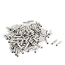 BN2 16-14 AWG Gauge Wire Uninsulated Butt Connector Terminal 220Pcs