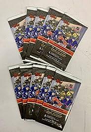 2020/21 Topps NHL Hockey Sticker 10 Packs