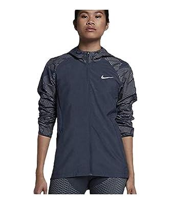 81f4d734db Amazon.com: Nike Women's Essential Flash Running Jacket: Clothing