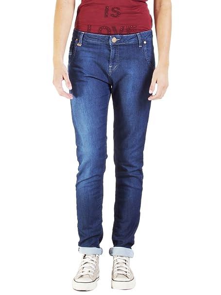 Carrera Jeans - Jogger vaqueros 771PL0985A para mujer, tiro caído, estilo denim, interior felpudo, ajuste suelto, cintura normal: Amazon.es: Ropa y ...