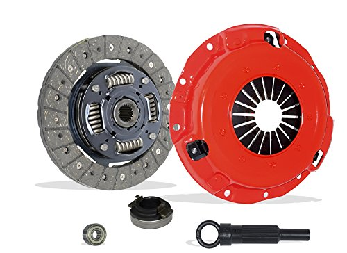 Clutch Kit Works With Kia Rio Sephia Base Cinco RX-V Ls Rs Gs 1994-2005 1.6L l4 GAS SOHC Naturally Aspirated (Stage 1)