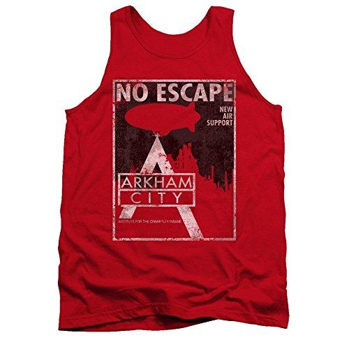 Batman Arkham City No Escape Adult Tank Top T-shirt L Batman Arkham Asylum Escape