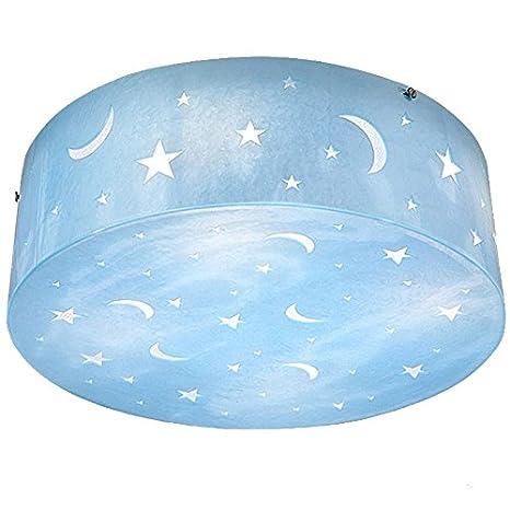 Estrella azul luna cuarto del niño lindo romántico para ...