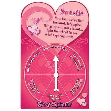 Bachelorette Party Favors Sexy Spinner Honeymoon Cards, 12 Count by Bachelorette Party Favors