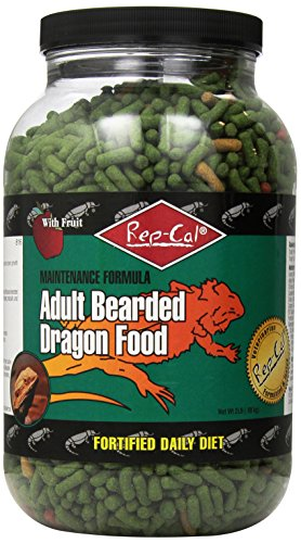 - Rep-Cal Srp00816 Adult Bearded Dragon Pet Food, 2-Pound