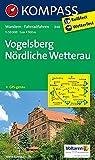 Vogelsberg - Nördliche Wetterau 1 : 50 000: Wandelkaart 1:50 000 (KOMPASS-Wanderkarten, Band 846)