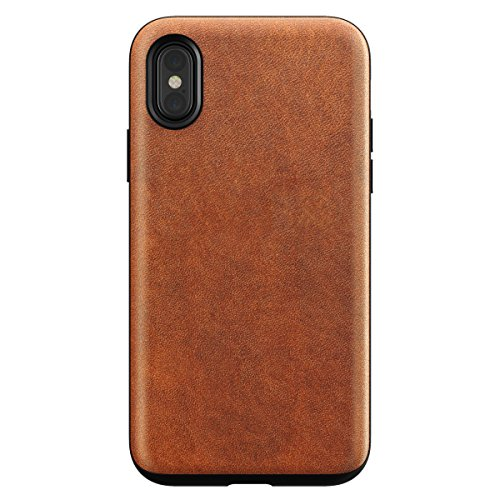 Nomad Rugged Leather Case for iPhone X