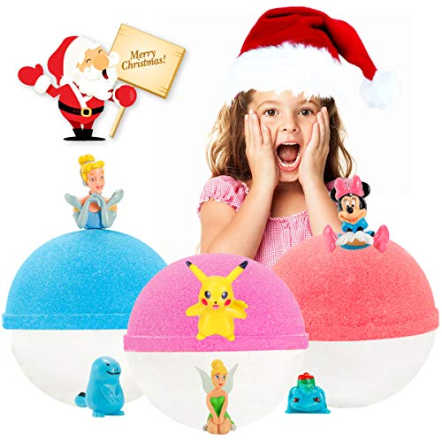 Surprise Bath Bombs Toys Inside for Kids Christmas