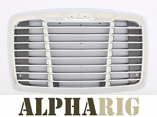 Freightliner Cascadia Front Grille Chrome OE Style 2008-2016 Grill w/ Bug Screen ()