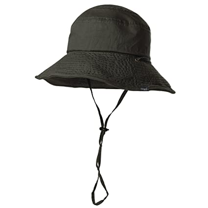 9edca49a0ee FancetAccessory 100% Cotton Outdoor SPF 50+ Crushable Boonie Sun Hat for Men  Womens Bucket