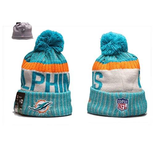 New Era Miami Dolphins NFL Sport Knit Beanie