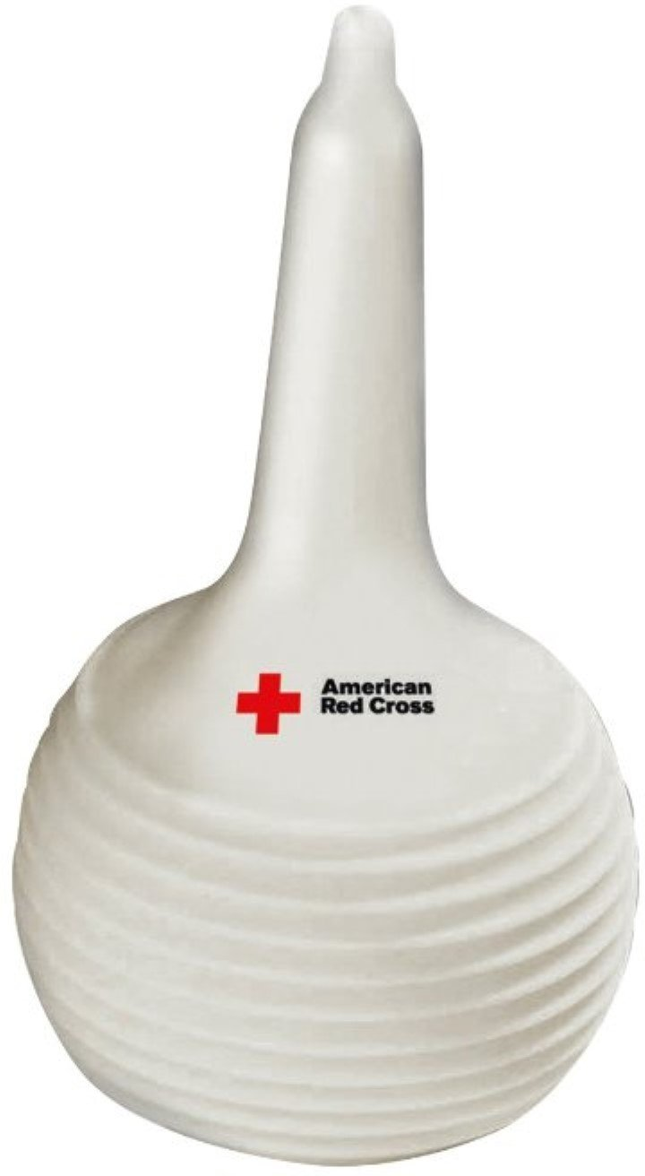 2 pk The First Years American Red Cross Hospital Style Nasal Aspirator