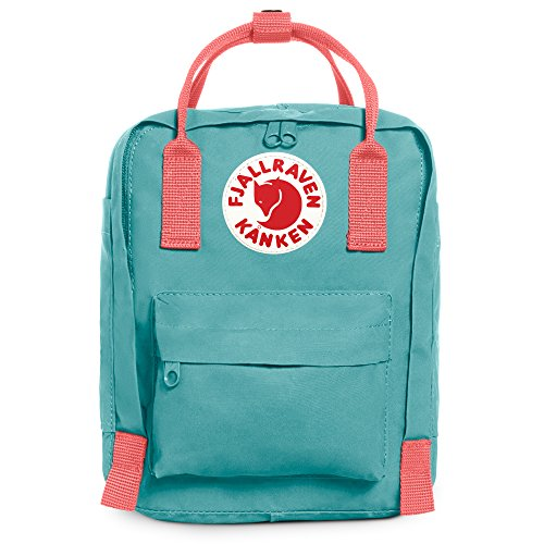 Fjallraven Kanken Kids Daypack, Frost Green/Peach Pink