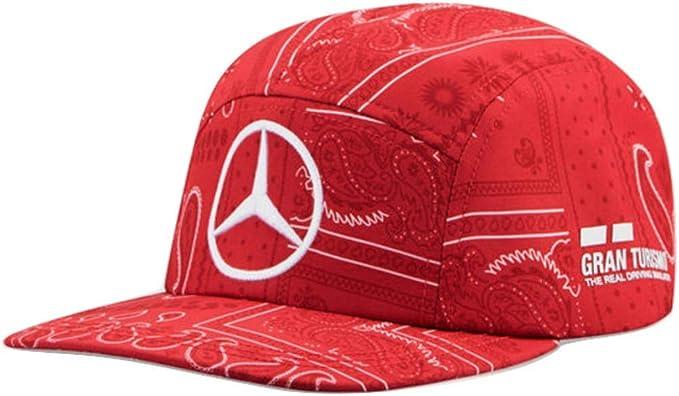 Amazon Com Mercedes Amg Petronas 2020 Lewis Hamilton Uk British Gp Special Edition Hat Red Clothing