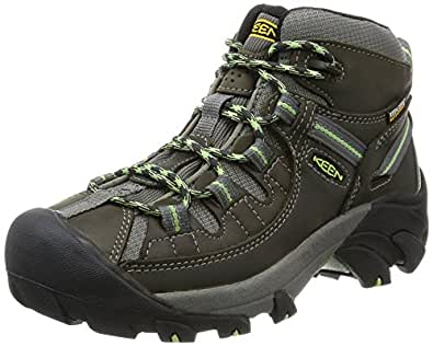 KEEN Women's Targhee II Mid WP Hiking Boot Black Size: 5 B(M) US