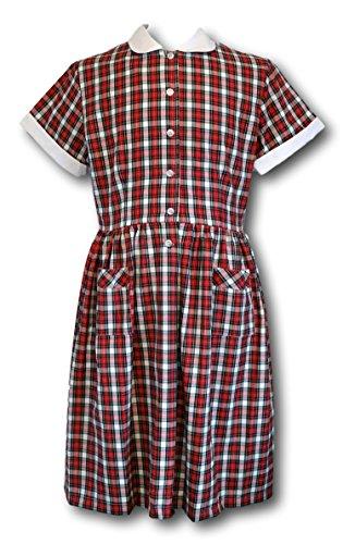 rot A rot Prendergast Kleid Albert Damen Linie fHxO4