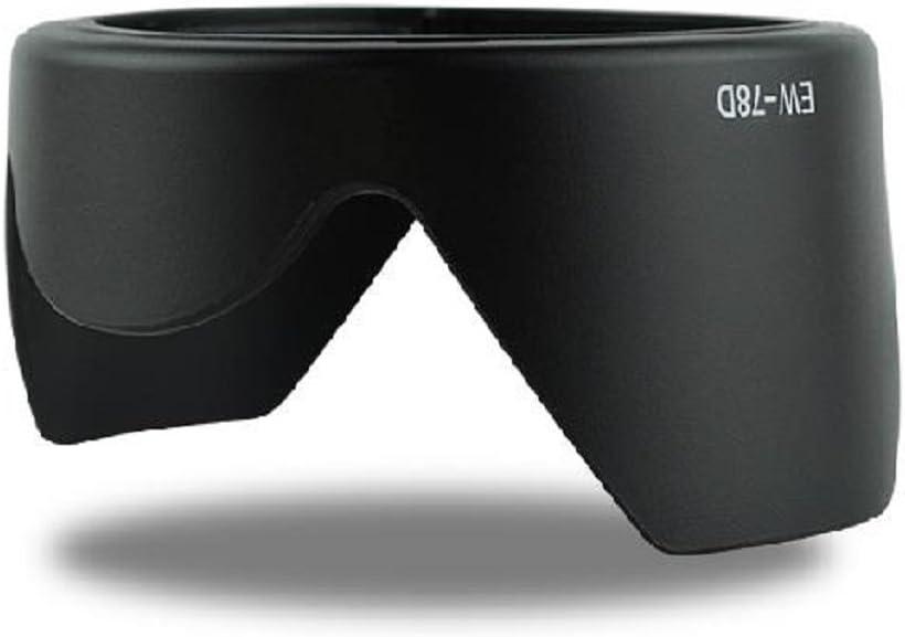 Dengpin Lens Hood EW-78D for Canon EF-S 18-200mm f//3.5-5.6 IS