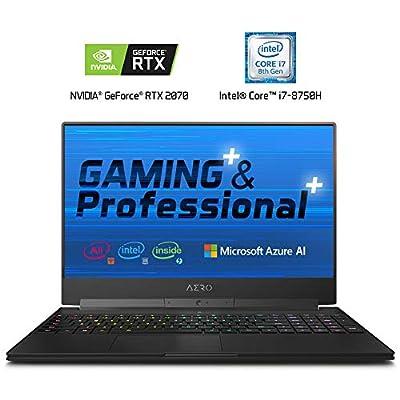 """GIGABYTE AERO 15-X9-9RT4K5MP 15"""" Thin Bezel UHD IPS Adobe RGB 100%, i9-8950HK, NVIDIA"""