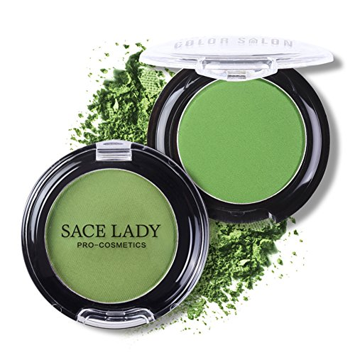SACE LADY Green Single Eyeshadow Palette Highly Pigmented Lo