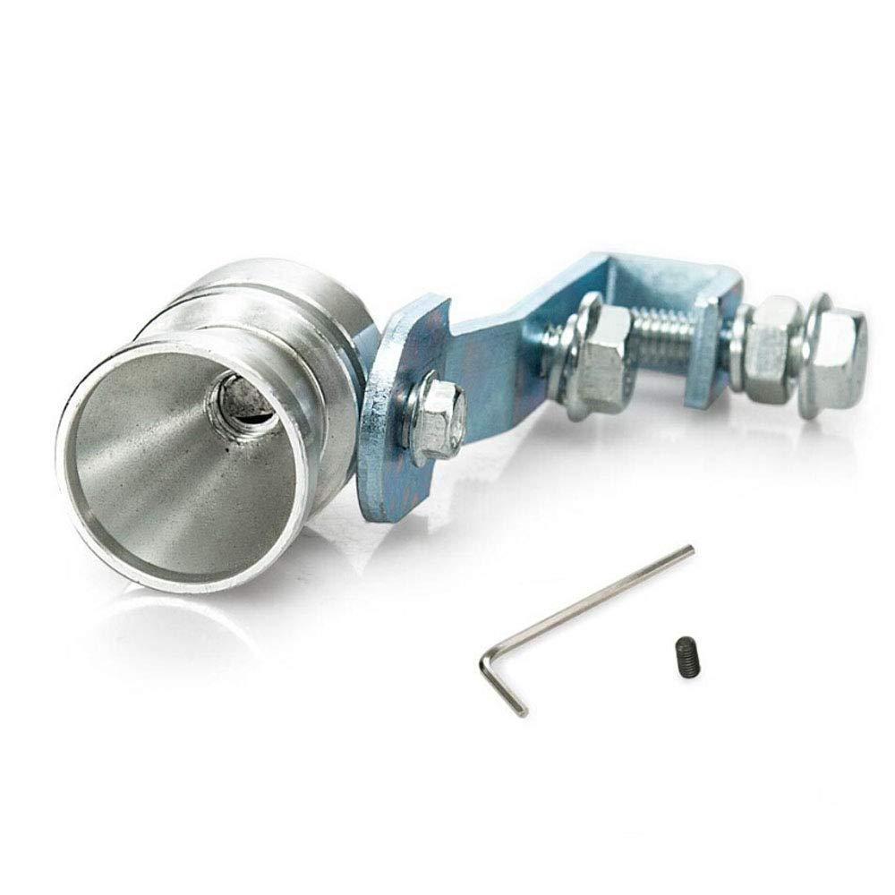 XL Universal Auto Turbo Schall Auspuff Schalld/ämpfer Rohr Pfeife Turbo Sound Pipe Blow Off Valve Simulator Whistle