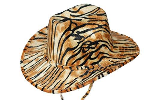 TIGER sAFARI cATTLEMAN chapeau de cowboy chapeau bécasses taille l