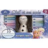 La reine des neiges, Olaf et ses amis : Coffret en 10 volumes : Libérée, délivrée ; Princesse Anna ; Les couleurs ; En avant, Sven ! ; Un bonhomme de ... Hans ; Un, deux, trois. Avec une peluche