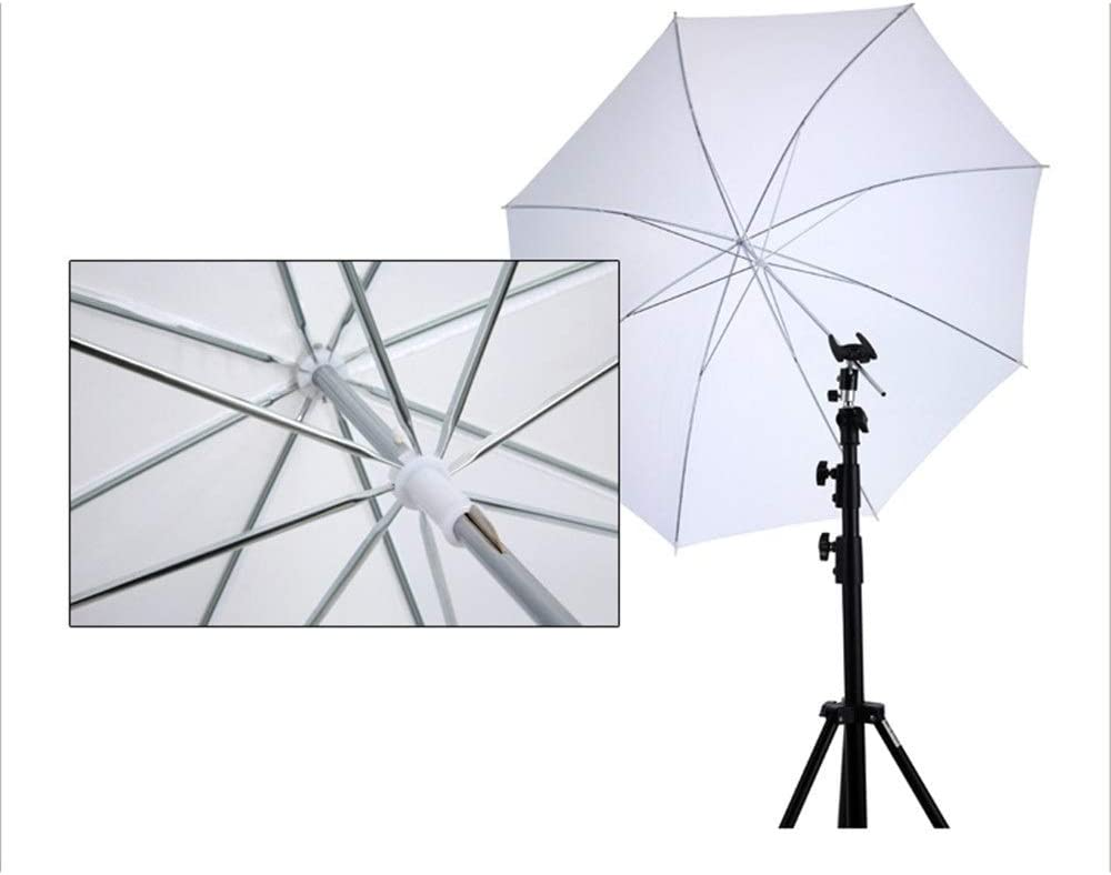 Shenghua1979 Photographic Reflector Multi-Disc Light Reflector 33 Inches White Professional Translucent Soft Umbrella Soft Panel for Photo and Video Studio Shooting Portable Reflector