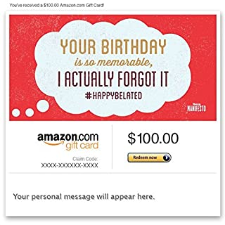 Amazon Gift Card - Email - A Birthday So Memorable (B00PG40B0E) | Amazon price tracker / tracking, Amazon price history charts, Amazon price watches, Amazon price drop alerts