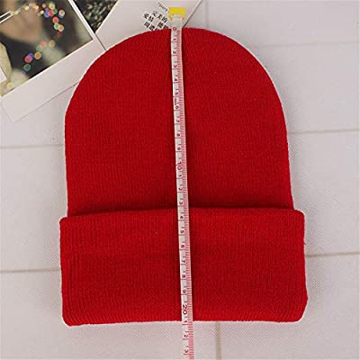 New Winter Hats for Woman New Beanies Knitted Solid Cute Hat Girls Autumn Female Beanie Caps Warmer Bonne