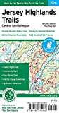 img - for Jersey Highlands Trails: Central North Region Map book / textbook / text book