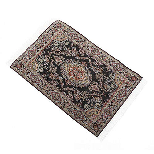 NATFUR Vintage Embroidered Dollhouse Miniature Carpet Rug Mat Floor Coverings 12th from NATFUR