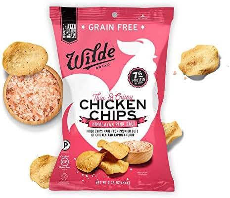 Jerky & Dried Meats: Wilde Protein Chips