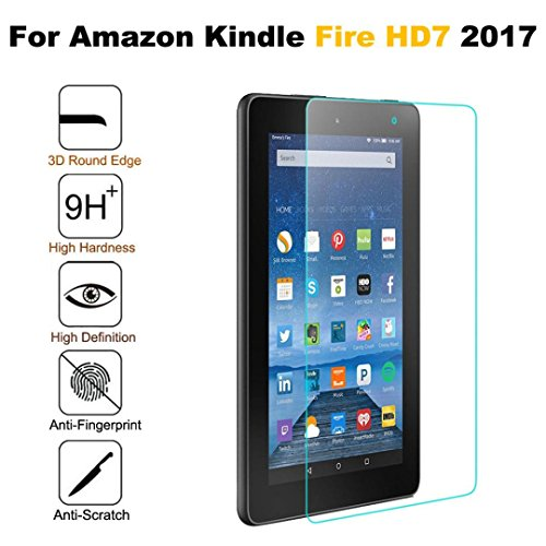 Tempered Glass Screen Protector For Amazon Kindle Fire HD7 - 9