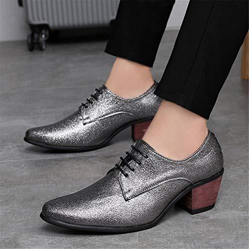 Zapatos Hombre Formales Estrecha Cuero Zapatos Primavera Zapatos de Un y YAN de Negocios Oficina Carrera Punta de de rfwq8rx