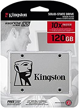 Kingston SSD Now UV400 - Disco duro sólido de 120 GB (2.5