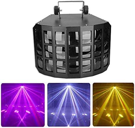 IhDFR ステージライト、ディスコライトは、サウンドは、ホーム屋外の休日のパーティーや誕生日のためのリモートコントロールでパーティーライトDMX512 LEDステージプロジェクターを活性化