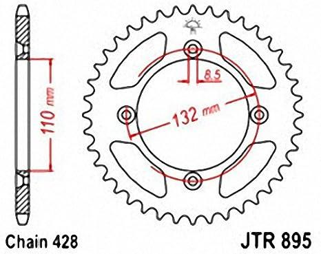 JT Sprockets JTA210.46 46T Aluminum Rear Sprocket