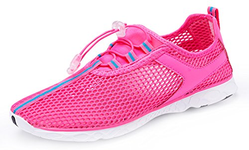 Women Running Barefoot Pool Shoes Shoes Swim Socks Pink MOERDENG Walking Aqua Men Water Quick for Beach Dry 5q7tnRwZYx