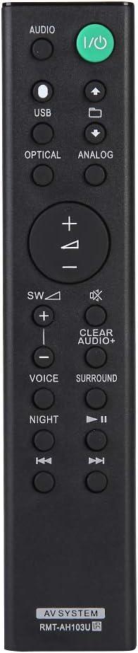 Domybest - Mando a distancia para barra de sonido Sony HT-CT80 SA-CT80 HTCT80 SA-CT80 SACT80