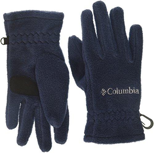 (Columbia Boys' Big Fast Trek Glove, Collegiate Navy, Medium)