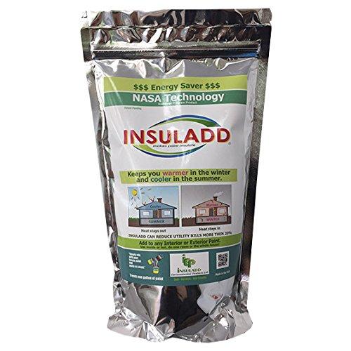 Aditivo para pintura INSULADD. Mejora el aislamiento térmico y reduce costes de climatización.