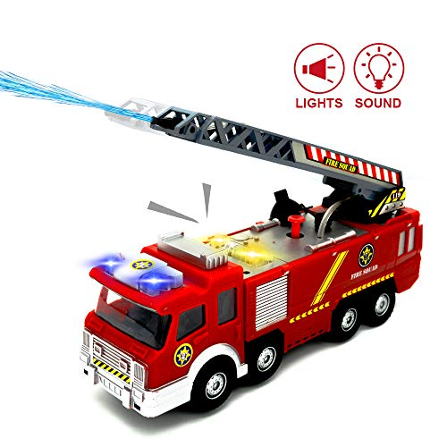 Used, Toddler Toys Trucks - Fire Truck with Lights and Sirens for sale  Delivered anywhere in USA