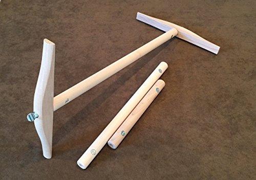 2, 1-1/2 and 1 Yard Skein Niddy Noddy Kit