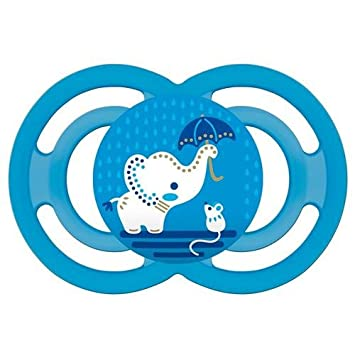 Chupete MAM Perfect 16 m + Silicona Azul: Amazon.es: Bebé